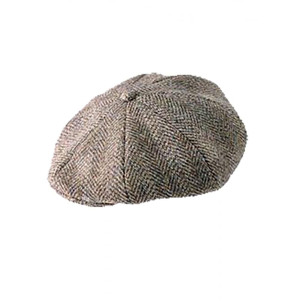 9363696f Heather Hats Harris Tweed 8 Piece Arran Cap - Accessories from Otterburn  Mill Ltd UK