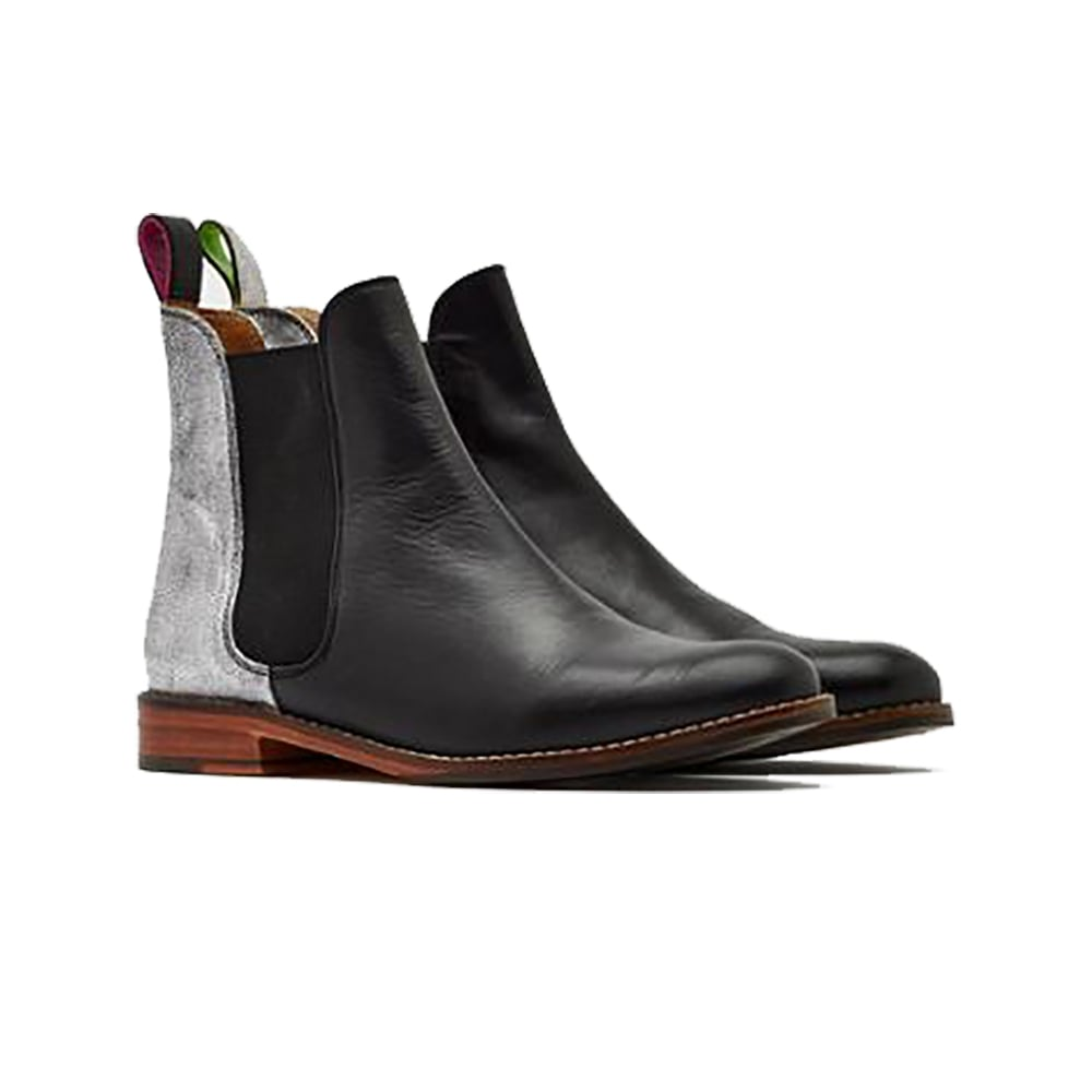 Westbourne Leather Chelsea Boot Black