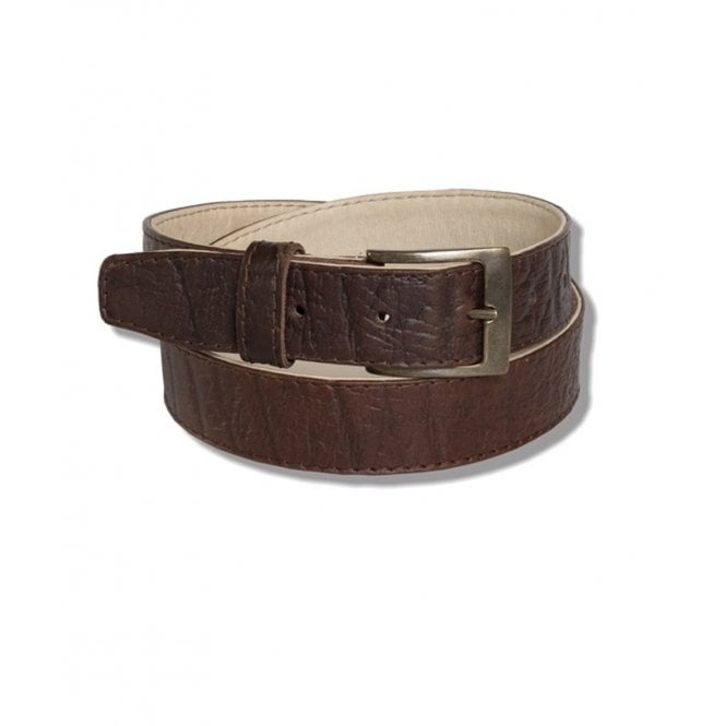Original Rogue Leather Rolled Edge Belt